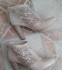 NERO GIARDINI Italy kozne duboke cipele 25cm