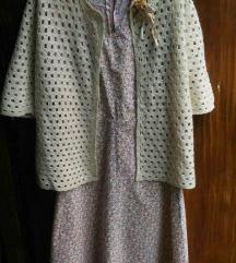 Vintage pamucna zvonasta haljina