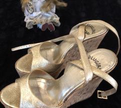 Blumarine zlatne sandale