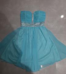 Svečana top haljina sa cirkonima