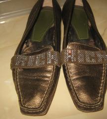 Bakarno  cipele sa svarovski  kristalima 40/26