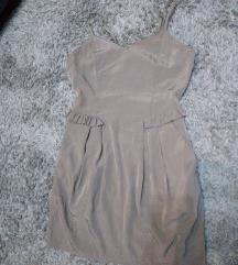 H&M krem haljinica