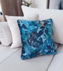 Handmade plavi jastuk
