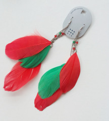 Six peruske - zeleno/crveno *NOVO*