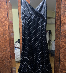 Svilena haljina na tufne L/XL