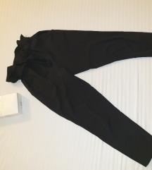 Lagana crne pantalone 7/8 S