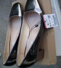 Zara metalik cipelice 36