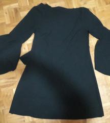 Crna sira haljina