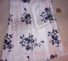 Suknja sa cvetovima