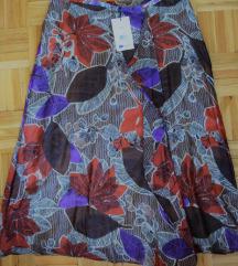 CORTEFIEL predivna svilena suknja IT42 NOVO 50e