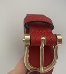 NOV H&M crveni kais