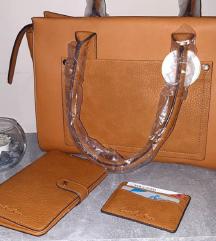 Nova torba, novcanik i futrola za kartice