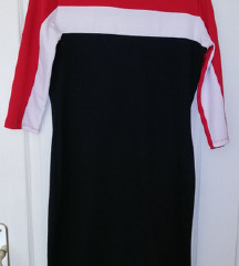 Zara dux haljina XL sa 3/4 rukavima
