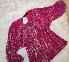 Pink bluza sa sljokicama