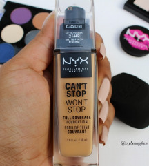 Nyx mat Can't Stop Won't Stop puder