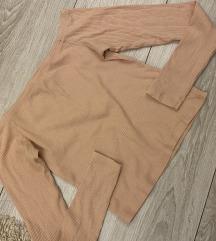 H&M majica puder boje