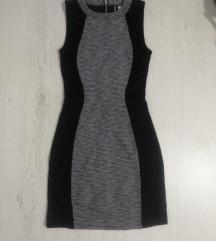 H&M uska mini haljina novo