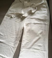 Letnje pantalone dubokog struka i sirokih nogavica