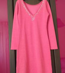 Blumarine original barbie roze haljina M/L