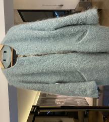 Zara mint kaput jakna