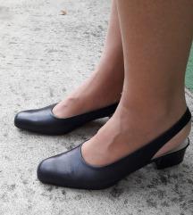 BALLY crne kozne sandalete Novo 38/24.5cm