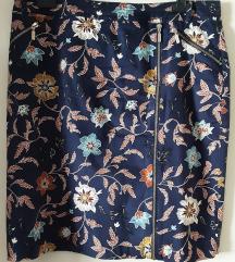 Cortefiel pamucna pencil suknja