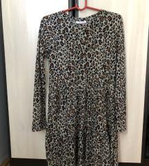 Zara gepard print haljina