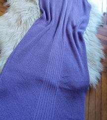 Lila koncana haljina