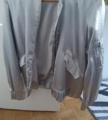 SNIZENJE srebrna jakna H&M
