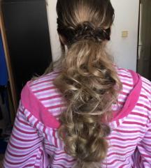 Kosa na klipse