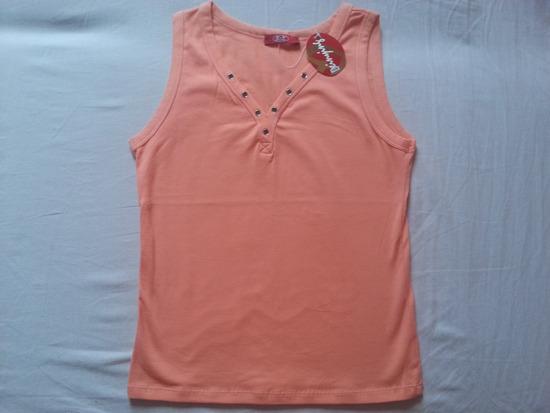 Nova majica jarko breskva boje