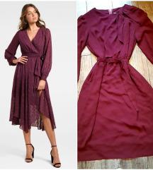 Svecana ciklama haljina kao Novo