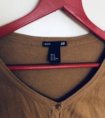 H&M camel brown kardigan
