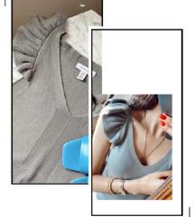 TOPSHOP bluza sa etiketom
