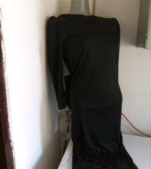 Lili otvorenih ledja sa masnom haljina  M