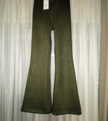 SNIŽENJE  Maslinaste pantalone NOVE sa etiketom