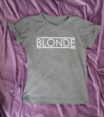 body majica uz telo BLONDE