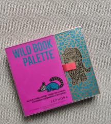 NOVO Sephora Wild Book paleta