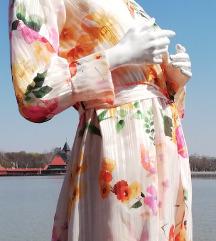Leprsava letnja cvetna haljina ( etiketa )