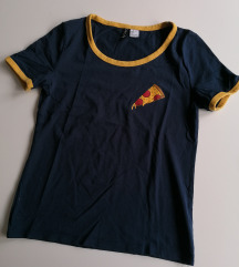 H&m majica sa pizzom S