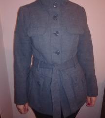 H&M sivi kaput