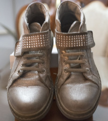 Kožne duboke cipele za devojčice