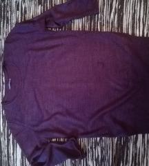 TERRANOVA burgundy džemper, M