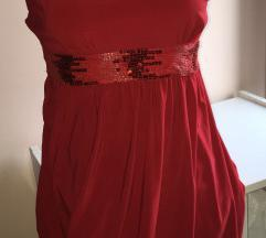 svecana crvena haljina  razmena ne