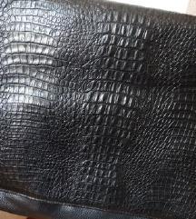 Vintage krokodilska koza, SNIZENO