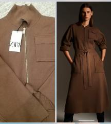 Zara pletena haljina nova sa etiketom