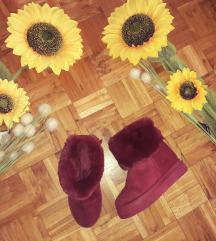 Bordo cizme na platformu