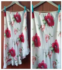 Nova cvetna suknja sa karnerom