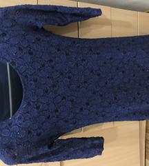 Teget haljina sa sljokicama