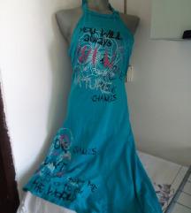 Pink fly plava haljinica S